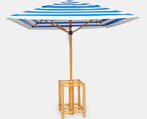 View Umbrella Structure - 4 Sticks With Ferarri Fabric