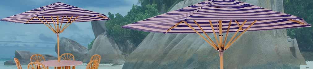 Umbrella Structure - 6 Sticks With Ferrari Fabric