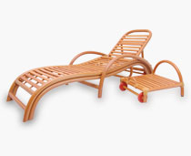 View Safari Loungers With Pull Away Table