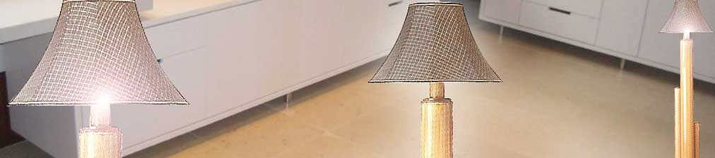 Cocos Lamps White
